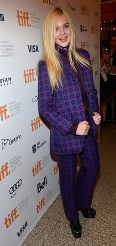 Elle Fanning is the woman in black for the premiere of her new flick Ginger & Rosa during the 2012 Toronto International Film Festival at The Elgin on Friday (September 7) in Toronto, Canada.