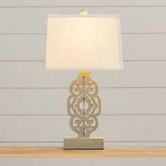 """Found it at Wayfair - Euna 27"""" H Table Lamp with Empire Shade"""