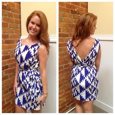 Saint Kitts Printed Dress $45 www.honeyandhiveboutique.com