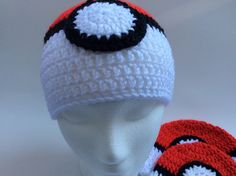 A personal favorite from my Etsy shop https://www.etsy.com/ca/listing/476806981/adult-pokemon-hat-pokemon-go-ball-beanie