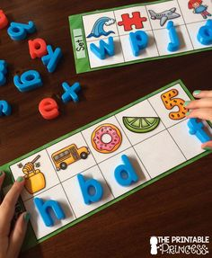 Beginning sound activity. Includes optional recording sheets so you can use this in a small group or independent center.