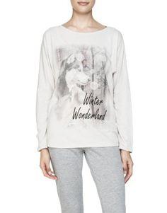 Wolf Print Sleep T-Shirt - Woolworths