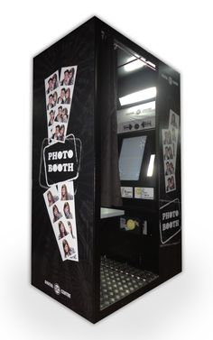 Photo booth hire.... Cool idea.