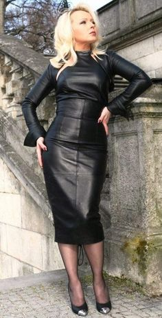 Dress leather. Tumblr