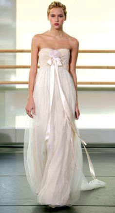 claire pettibone blush pink #wedding dress