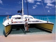 Board a catamaran and spend the day on the Caribbean sea, or take a sunset cruise to watch the sun going down, with a cocktail in your hand...