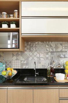 19 Ideas Decor Kitchen Color Arquitetura For 2019 Kitchen Design Small, Rustic Kitchen Design, Kitchen Decor, Interior Design Kitchen, Kitchen Modular, Kitchen Furniture Design, Dining Room Decor, Home Kitchens, Kitchen Design