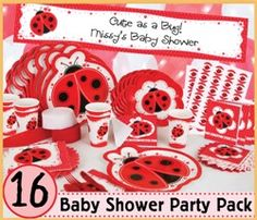 lady bug baby shower decorations baby shower decoration ideas