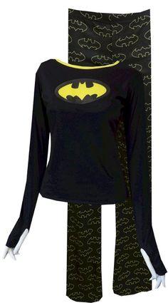 Batgirl Glow in the Dark Pajamas for teens next Friendcation PJs? - Batman Clothing - Ideas of Batman Clothing - Batgirl Glow in the Dark Pajamas for teens next Friendcation PJs? Cute Pjs, Cute Pajamas, Satin Pyjama Set, Pajama Set, Bustiers, Pajamas For Teens, Pijamas Women, Nananana Batman, Batman Outfits