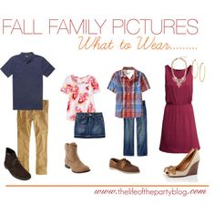Fall Family Pictures What to Wear by thelifeoftheparty, via Polyvore