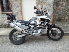 The Africa Twin + Marzocchi Magnum