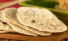 Pão indiano Chapati: http://www.saboresdochef.com/1269/pao-indiano-chapati
