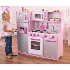 Kidkraft Argyle Play Kitchen With  Pc Food Set