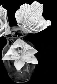 Paper Flowers - JPG Photos