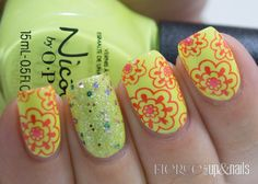 Nicole By OPI Seize The Summer Nail Art