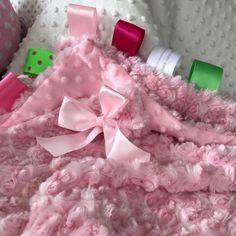 Beautiful Minkie Stroller Blanket...