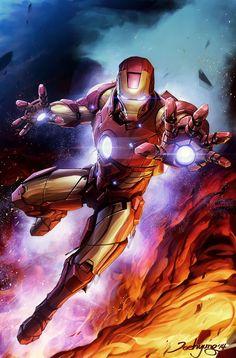 , Most Popular Marvel Iron Man Iron Man Avengers, Iron Man Marvel, Marvel Comics Art, Bd Comics, Marvel Heroes, Marvel Avengers, Iron Man Kunst, Iron Man Art, Iron Man Wallpaper