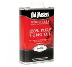 Old Masters 90008 100% Pure Tung Oil, Pint