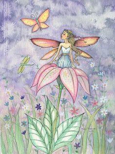 Molly Harrison Liliana - fairy art