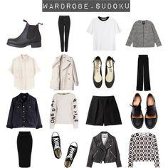 wardrobe sudoku minimalist - Google Search