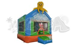 Children Inflatable Under The Sea Jumping Castle