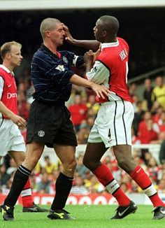 Both Keane and Vieira believe that got the better of each other in battles