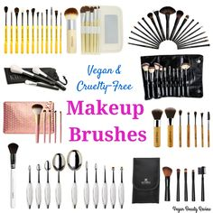 Calling all compassionate beauty junkies! Have y'all switched out your makeup brushes for vegan and cruelty-free ones yet? If not, I'm here to help! 5Reasons Vegan Makeup BrushesROCK No animals areharmed(squirrels, minks, sables, and goats send you mad love). Synthetic brushes can be ridiculously soft. They don't harbor bacteria (like animal brushes do). They're easier … Read More →