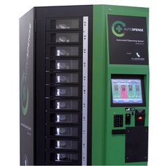 """The Orange County Register is reporting that medical marijuana can now be legally dispensed through a fully automated vending machine called the Autospense. The promotional video shows how easily this dispensary machine works with a medical marijuana card, a thumbprint scan and payment. AutoSpense's founder, Joe DeRobbio of Dispense Labs, is quoted as saying """"What goes in, what comes out, it's documented and there's no way to subvert that."""" The Dispensary Store in Santa Ana, California is…"""