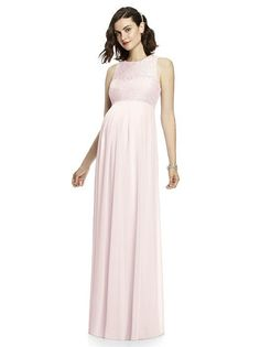 After Six Maternity Bridesmaid Dress M428   The Dessy Group