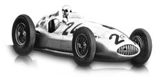 "1939: Mercedes-Benz 1,5-litre formula racing car W 165 ""Tripolis"":  To exclude the successful Mercedes-Benz cars, the Italian organisers of the popular race in Tripoli announced that the 1939 race would be for 1.5-litre racing cars. In only eight months, Mercedes-Benz then developed an entirely new car that started in this one race only. On 7 May 1939, the W 165 posted a double victory against 28 competitors.  Displacement:	V8  Maximum Output:	1493 cc (91 cu in)  Top speed:	272 km/h (169…"