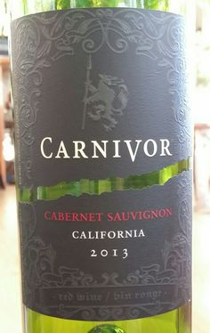red wine carnivor cabernet sauvignon california dr jims wine reviews authentic oak red wine