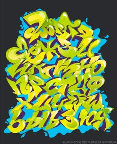 Граффити, алфавиты, шрифты, буквы | VK Graffiti Lettering Alphabet, Graffiti Font, Graffiti Artwork, Graffiti Drawing, Graffiti Artists, New York Graffiti, Street Art Graffiti, Gothic Alphabet, Arte Hip Hop