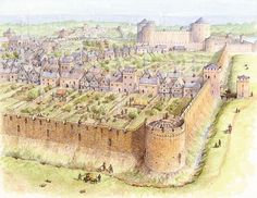 The Town Walls, County Kilkenny by Philip Armstrong