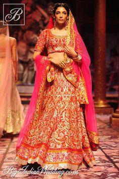 Suneet Varma bridal lehenga