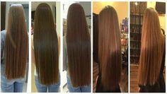 Largo y sedoso y no poder lograr que este crezca más allá de una cierta longitud. Ya que no se trata simplemente de dejar de cortarse el cabello por mucho tiempo.