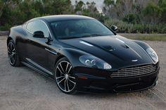 Aston Marton DBS, perfect for shaking Bond's martini