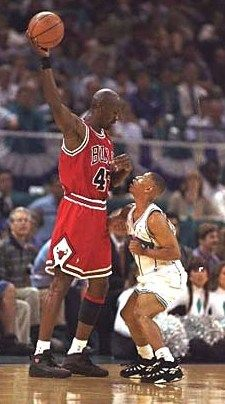Muggsy Bogues had challenges.  We all have challenges.  Like Muggsy, we can figure out a way to overcome them