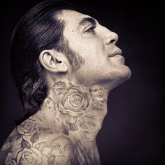 Celebrities Covered in Tattoos Chennye Randall,