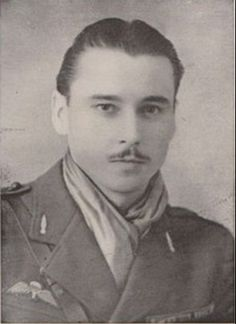 """Maurice Maxime Leon Dupont (""""Yvan"""") (1921-1989) was an officer in the French army, before he became the head of SOE's Diplomat network, a well-organized circuit of 400 maquis."""