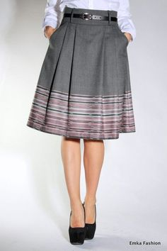 Blouse And Skirt, Dress Skirt, Office Outfits, Skirt Outfits, A Line Skirts, Blouse Designs, Beautiful Outfits, Fashion Dresses, Crop Tops