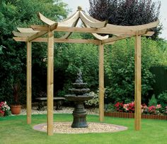 Dragon Pergola from Grange Garden Products