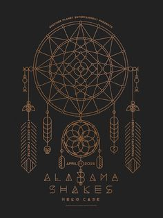57568fc879c Alabama Shakes Poster by DKNG Concert Posters, Gig Poster, Poster Prints,  Music Posters