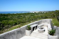 Braai area with view