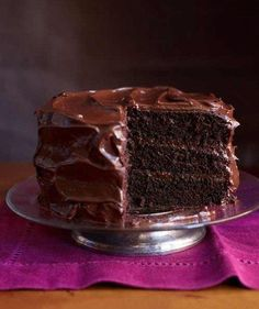 It's the ULTIMATE chocolate cake recipe according to Good Housekeeping, and if you're looking for the very best chocolate dessert for Valentine's Day, then search no further. It's a tried and true classic that has been reappearing in the longtime magazine since 1927! It's everything rich, moist and chocolatey, which gets even better with the …