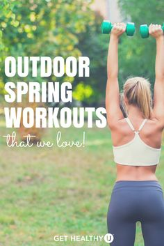Our team here at GHU compiled your SPRING WORKOUT IDEAS into a list.  Maybe some are familiar to you or maybe some are new – our goal is to inspire you to take your fitness to the fresh air! After all, spring is all about renewal, so it's the perfect season to try something new!