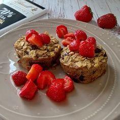 Csokis-banános sült zabkása - Oat Mill - zab és más Healthy Desserts, Healthy Lifestyle, French Toast, Muffin, Paleo, Snacks, Cookies, Dinner, Breakfast