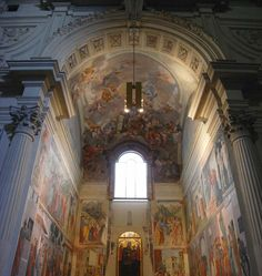 Masaccio, Brancacci Chapel in Santa Maria del Carmine, Florence