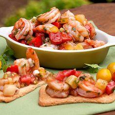 Summer Shrimp Cocktail with Jalapeno Pepper & Cilantro by lanascooking #Shrimp_Cocktail #lanascooking