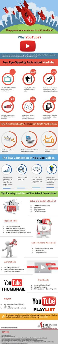 Keep your customers tuned in with #YouTube! http://www.softsystemsolution.com/blog/keep-your-customers-tuned-in-with-youtube/?utm_content=bufferd2d05&utm_medium=social&utm_source=pinterest.com&utm_cam (Computer Tech Technology)
