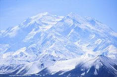Denali summit, or Mount  Mc Kinley, 6168m, Alaska